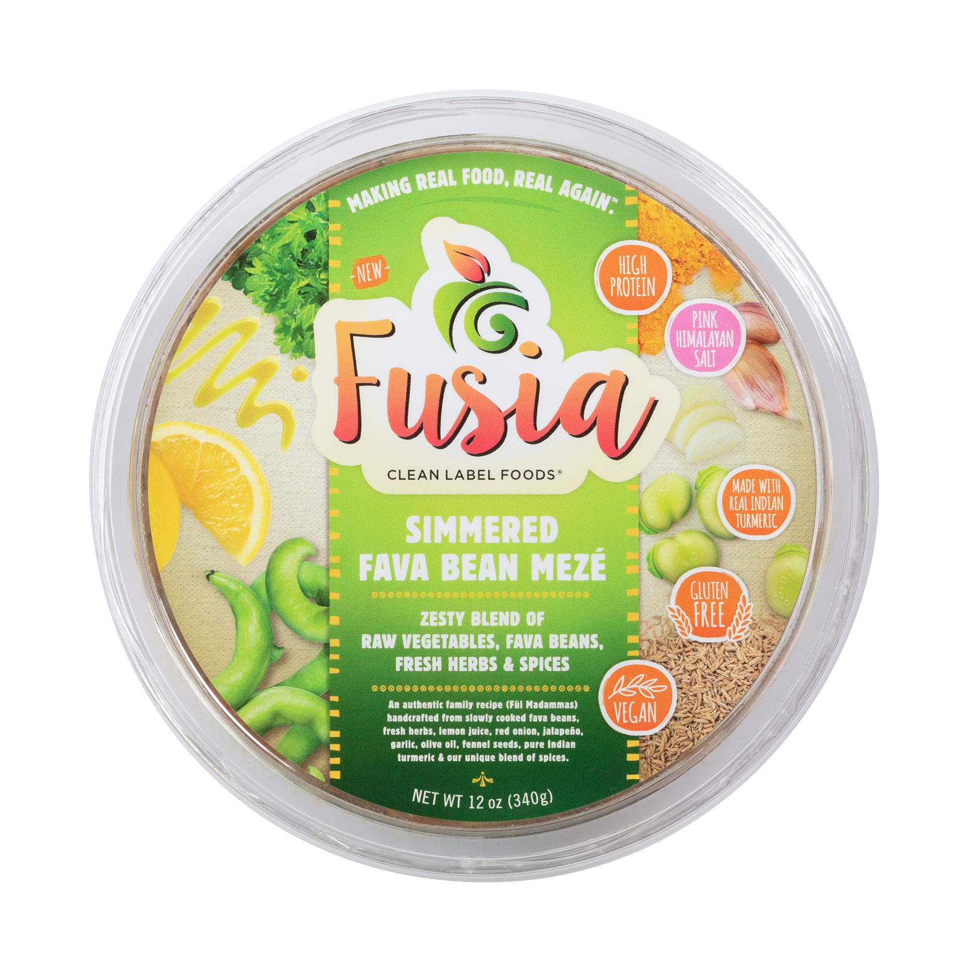 Simmered Fava Bean Meze