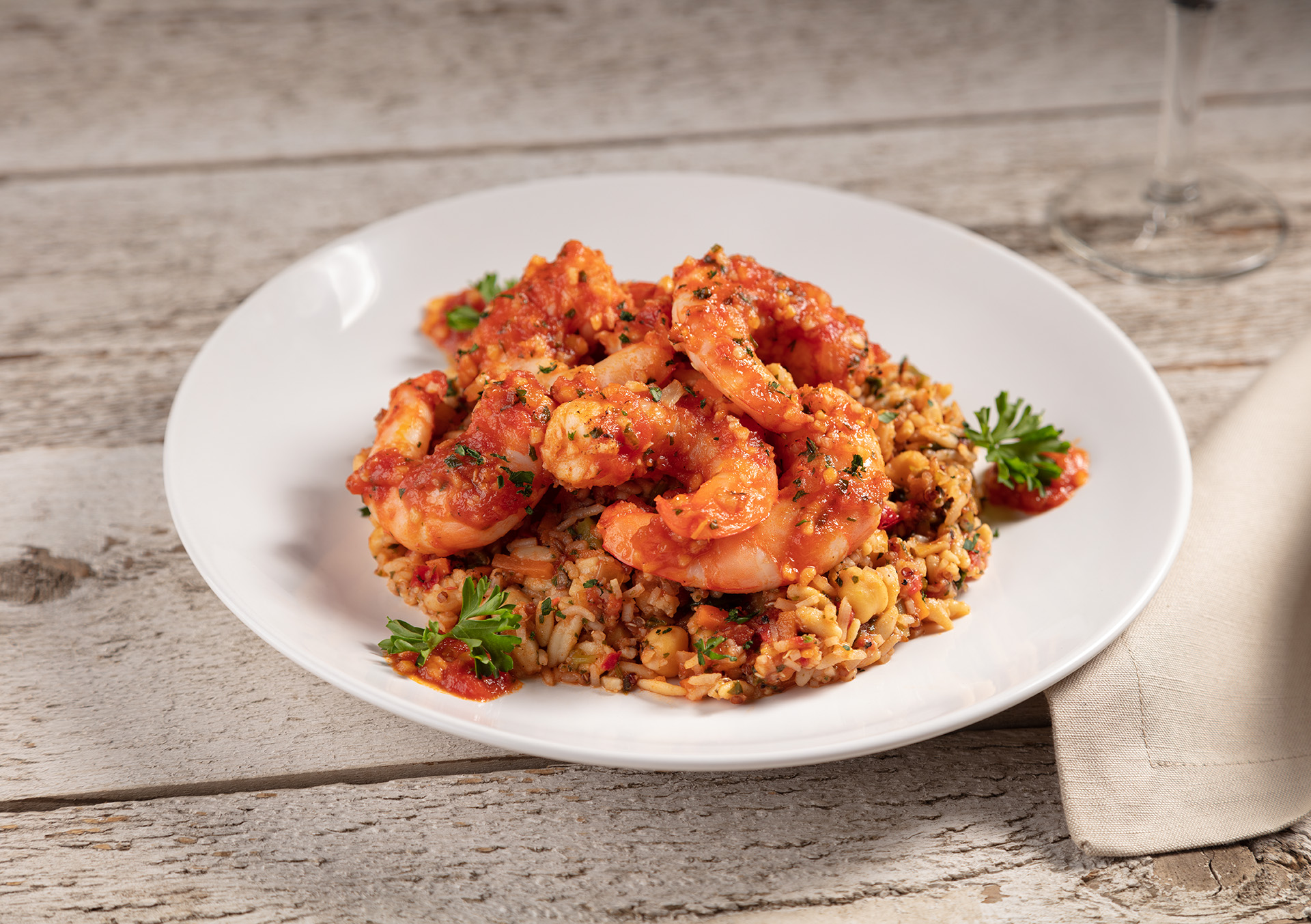 Thumbnail picture of Shrimp Siciliano looking so tasty on a plate.