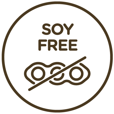 Icon indicating this product is soy-free.