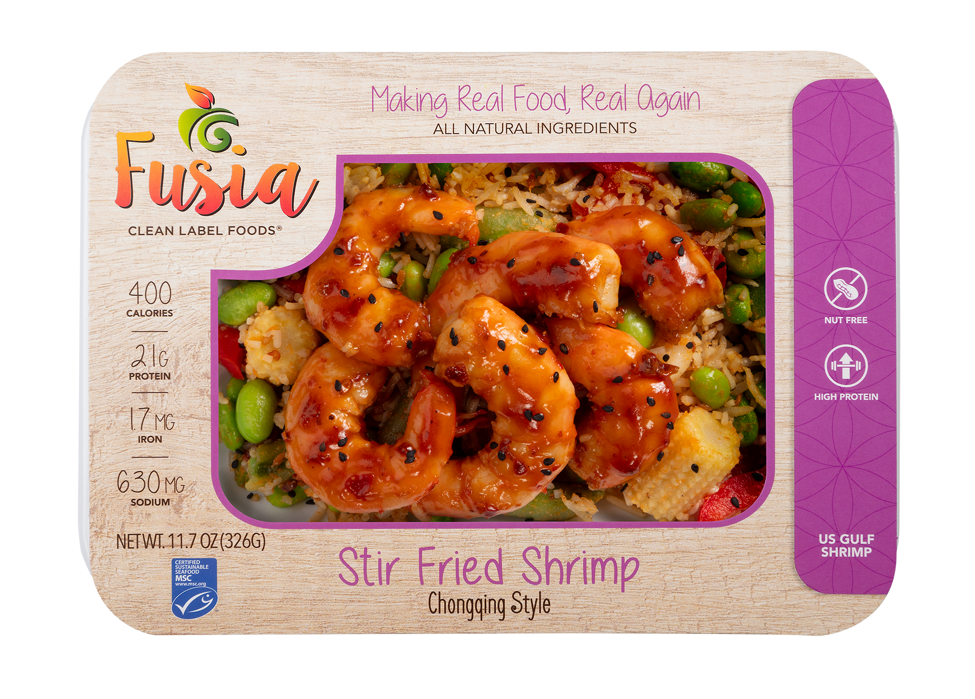 Stir Fry Shrimp